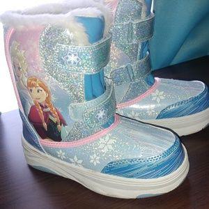 Girls Disney Frozen Snow Boots